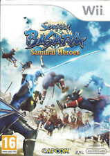SENGOKU BASARA SAMURAI HEROES for Nintendo Wii - with box & manual - PAL