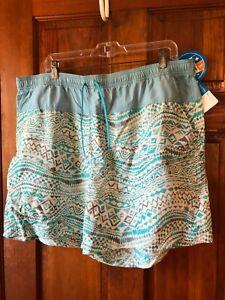NWT Columbia Omni-shade Multi-color womens Shorts size 1X