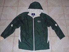 Reebok New York Jets NFL Football Hood Jacket Sewn Logo Junior XL or Adult Small