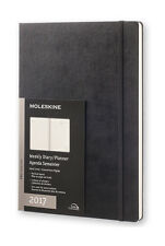 Moleskine - 2017 Professional Diary - Weekly Vertical - A4 - Hard Cover - Black