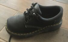 Dr. Martens Black Leather Shoes Size 6 Made in England Doc Martin Air-Cushion