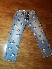 Levis Disney Jeans 32 X 30 501 Mickey Mouse Sold Out Limited Edition