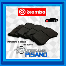 P68033 4 PASTIGLIE FRENO ANTERIORI BREMBO NUOVE & ORIGINALI