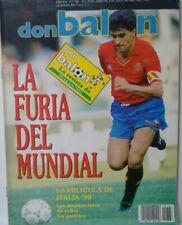 REVISTA DON BALON N 766 JULIO 1990. LA FURIA DEL MUNDIAL ITALIA 90