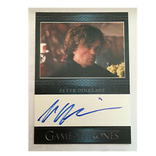 Tyrion Lannister Peter Dinklage Game of Thrones 3 Autograph Trading Card Auto