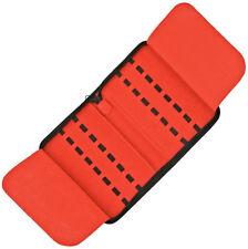 Zip Up Knife Pack, Black Nylon, Holds Up To 16 Folding Knives, Ac141