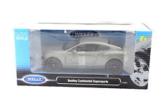 Welly BENTLEY CONTINENTAL SUPERSPORT GREY 1/24  Diecast Car