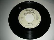 Whispers - Emergeny  PROMO  45 vinyl Solar Records NM 1981