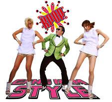 Estilo Gangnam T-shirt. Damas, Caballeros Y Niños Tallas PSY Camiseta K-Pop Dance Tee
