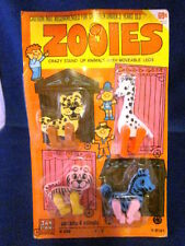 Jak Pak Zooies Crazy Stand Up Animals with Moveable Legs Made In Hong Kong #208