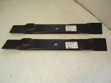 """NEW 2 Mower Deck Blades for John Deere 42"""" AM137333 GX22151 GY20850 LA110 LA120"""