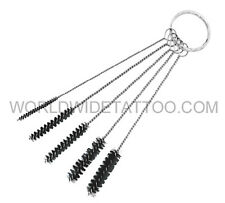 Tattoo Grip Tip Cleaning 5pcs Brush Set for your tattoo equipment medical supply