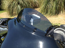"Harley 8"" Windshield Dark Tint - / Electra Glide / Ultra Classic / 1996 - 2013"