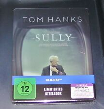 Sully con Tom Hanks Limitada Steelbook con innendruck BLU-RAY NUEVO Y EMB. orig.