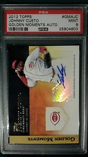 2012 TOPPS GOLDEN MOMENTS AUTOGRAPH JOHNNY CUETO CARD #GMAJC PSA 9 CINN REDS