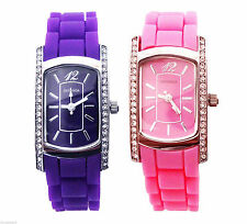 Gloss Stainless Steel Case Teen Wristwatches