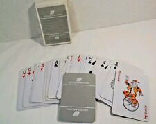 United Airlines Logo Gray  Deck Playing Cards Open Box