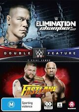 WWE: Fast Lane 2017 /elimination Chamber 2017 Double Feature NEW R4 DVD