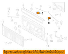 TOYOTA OEM 89-95 Pickup Tail Gate Tailgate Hatch-Strap Stop 6577889105