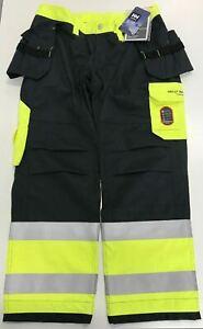 Helly Hansen 76480 369 Aberdeen Construction Class 1 Work Pants D100 Size:38x31