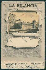 Ancona Jesi Iesi Giornale La Bilancia Modiano cartolina QQ1187