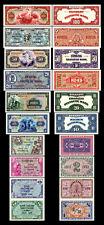 5Pf,10Pf,1/2,1,2,5,10,20,50,100 Deutsche Mark,Geldscheine 1948 2 Sätze