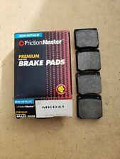 Fits Datsun B110 Friction Master MKD41 Semi-Metallic Disc  Brake Pads NOS