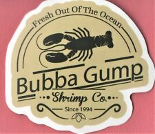 Forrest Gump Sticker Comedy drama Tom Hanks Bubba Gump Shrimp Co Robert Zemeckis