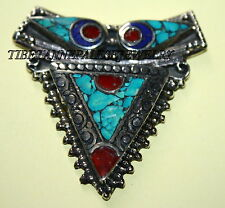 Nepalese Turquoise spacer Necklace Spacer 1 Nepal spacer beads tibet spacer sp2