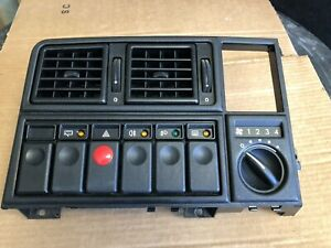 OPEL MONZA GSE/SENATOR A TRIM DASH WITH SWITCHES USED IN WORKING ORDER,MINT.