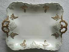 Hand Painted Plate / Platter by C. Colbourne