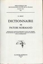 Dictionnaire de Patois Normand par H.Moisy