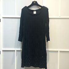 100% authentic Chanel little black dress with cc logo