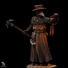 Plague Doctor Tin Painted Toy Soldier Miniature Pre-Order | Collectible