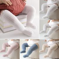New Newborn Cotton Tights Stockings Long Socks Warm Baby Knee High Socks Cute