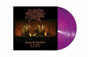 KING DIAMOND - SONGS FOR THE DEAD LIVE - PINK/BLUE MARBLED LIMITED 2 LP