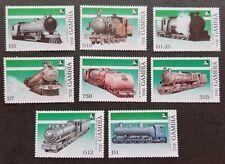 Gambia Train 1989 Locomotive Railway Transport Eisenbahn (stamp) MNH