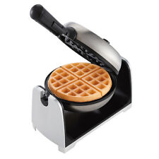 """Oster Stainless Steel Flip 1.5"""" Thick Belgian Style Non Stick Plate Waffle Maker"""