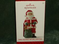 Hallmark 2014 Twas the Night Before Christmas Ornament - NEW    (BIN #5)