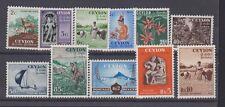 CEYLON 319-28 1954 set mint