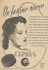 W6554 Cipria GIBBS - Un fascino nuovo - Pubblicità 1943 - Advertising