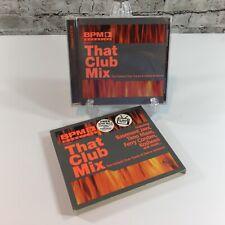 BPM Presents: That Club Mix by Various Artists CD 2002 Moonshine Music