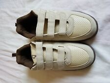MENS CJ BEIGE SELF ADHESIVE FASTEN SHOES/TRAINERS SIZE 11