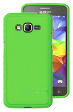 BODY GLOVE SATIN GREEN ANTIMICROBIAL CASE COVER FOR SAMSUNG GALAXY GRAND PRIME