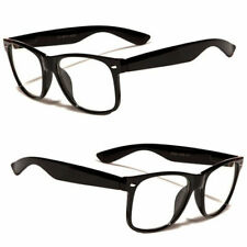 Small Kids Size Clear Lens Glasses Vintage Toddler Nerd Hipster Geek Retro