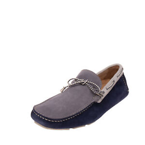 RRP €215 GOLD BROTHERS Leather Driving Moccasins EU 43 UK 9 US 10 Made in Italy