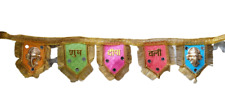 Toran Door Hanging/ diwali ganesha decoration /Door Valance/ Toran/ latkan decor