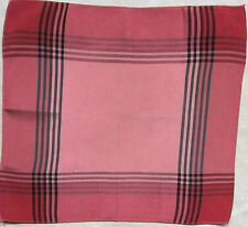 Vintage Handkerchief SILK Hankie Mens Top Pocket Square
