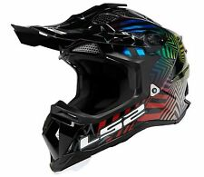 LS2 Subverter Super Collider MX Offroad Helmet Gloss Hollow-Burst