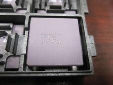 Intel A80386DX-16 ΣΣ Double sigma i386 rare vintage CPU, GOLD